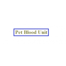 Pet Blood Unit
